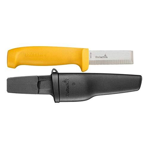 Hultafors 380070 Cuchillo cincel de Acero japonés de 201 mm (Incluye Funda para el cinturón de plástico Extra...