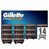 Gillette ProGlide Cuchillas de Afeitar Hombre con Tecnología FlexBall, Paquete de 14 Cuchillas de Recambio [empaque...