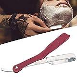 Navaja de afeitar profesional, navaja de barbero para doblar, navaja de afeitar para hombres, cuchillas de afeitar para...