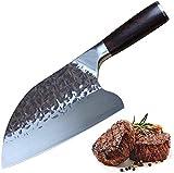 Home Safety Cuchillo de carnicero, Cuchillo de cocina profesional, Cuchillos Carne Cuchillo de Chino de los 8 Inch para...