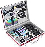 Pradel Excellence I7202TI - Juego de 12 Cuchillos, con Revestimiento de Titanio, 35,5x 28,5x 8,3cm, Incluye...