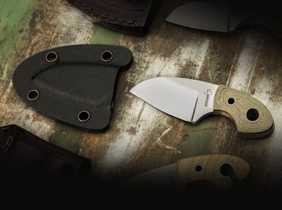 El cuchillo de cuello es una herramienta útil para todos