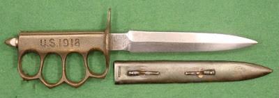Cuchillos de trinchera con guarda