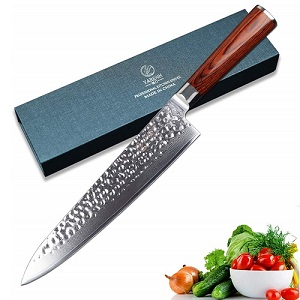 Comprar Cuchillo de Cocina de Acero de Damasco