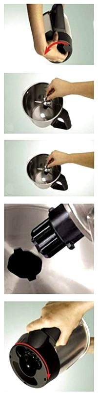 Cómo cambiar las cuchillas de la Thermomix